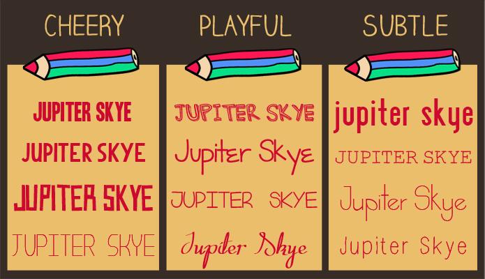Typography, Fonts, Jupiter Skye, Jupiter Skye by Roanna Fernandes