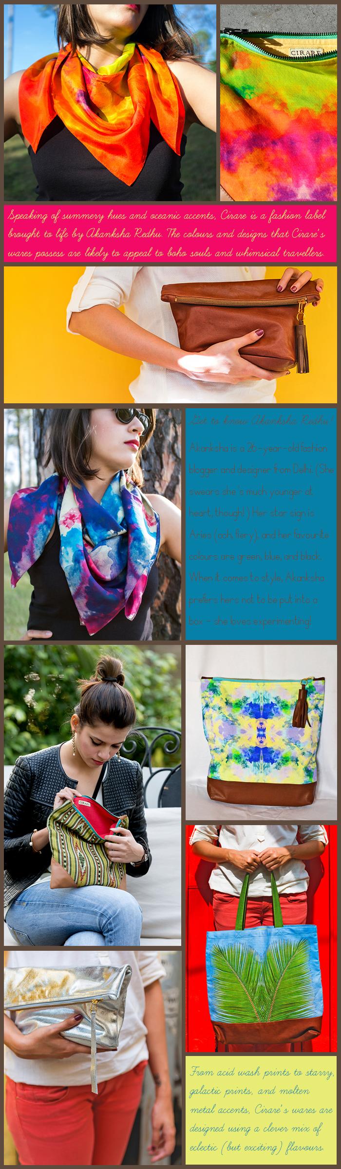 Cirare, Resort Wear, Resort Accessories, Akanksha Redhu, Photography by Naina Redhu, Fashion, Lifestyle, Island, Prints, Acid Wash