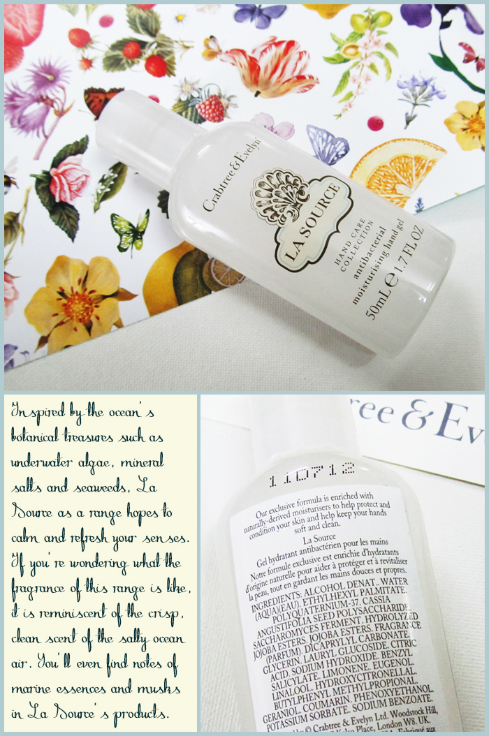 Crabtree & Evelyn, La Source, Hand Cream, Oceanic