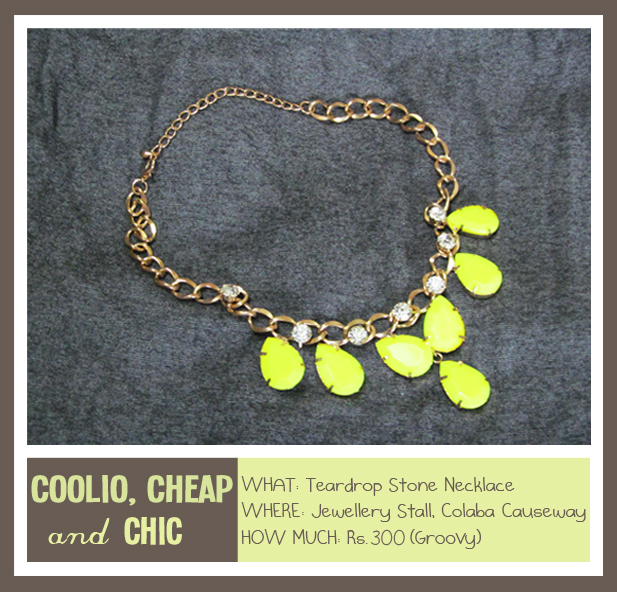 It's Neon or Never, Neon, Statement Necklace, Colaba Causeway, Junk Jewellery