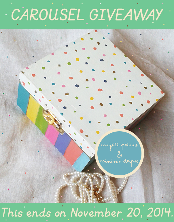 204 Carousel in the City { GIVEAWAY }