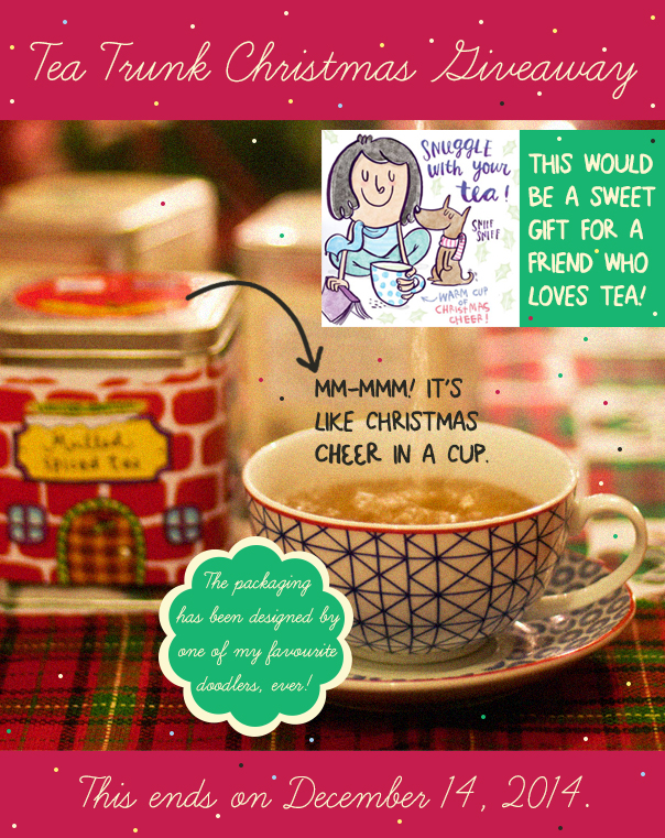 211 O Christmas Tea { GIVEAWAY }